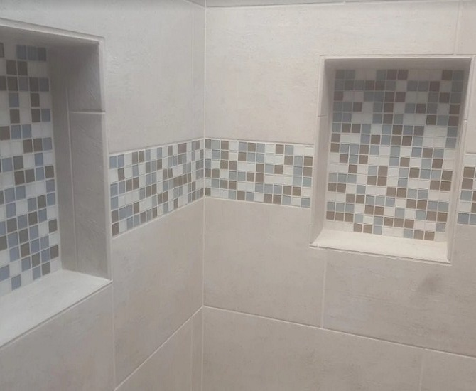 Bathroom Remodel Elk Grove Ca bathroom remodeled, accent wall, modern amenities elk grove, ca