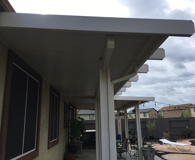 Completed Patio Cover Rancho Cordova, CA
