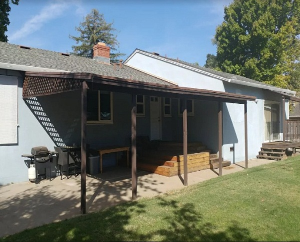 Durawood Flatwood Wall Attached Patio Cover Roseville Ca
