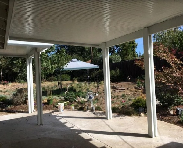 Two Side Wall And One Side Roof Attached Patio Cover Fair