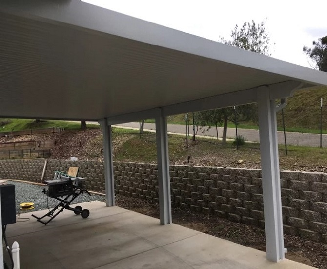 Exceptionnel Wall Attached Patio Cover Sutter Creek, CA. Patio Cover ...
