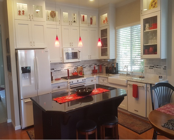Kitchen remodeled Davis ca