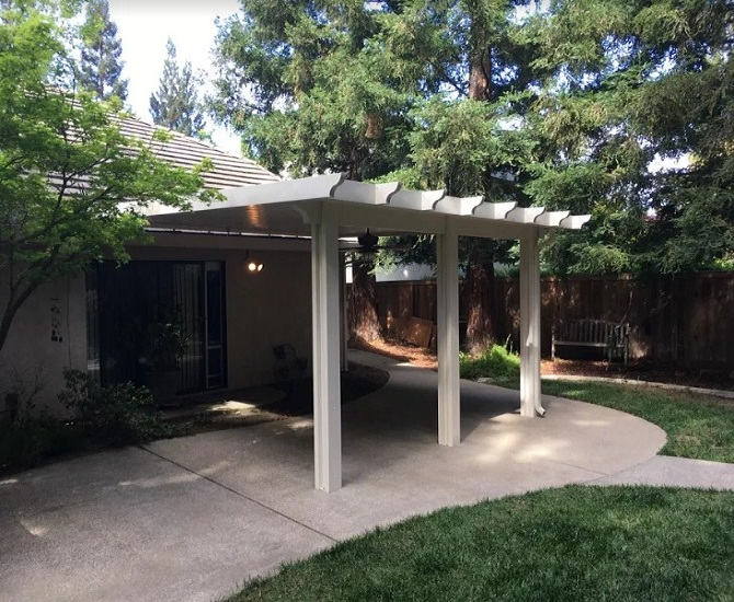 Durawood Attached Patio Cover Folsom Ca