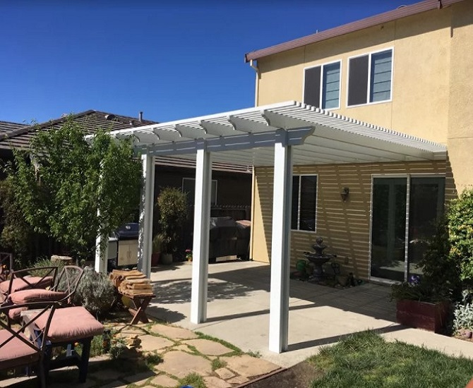 Turret Shaped Structure Patio Cover Woodland Ca