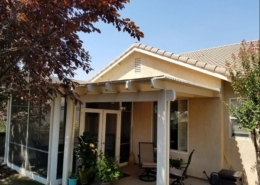 Roof Attached Patio Cover Rocklin, CA