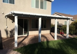 Wall Attached Patio Cover Plumas Lake, CA