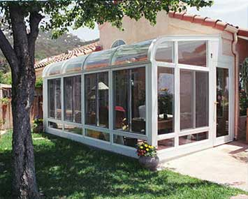 Curved Roof Sunrooms