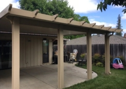 flatwood solid patio cover Carmichael, ca