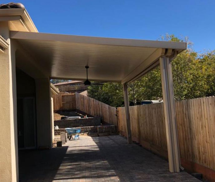 Free Standing Solid Patio Cover Petkus Brothers