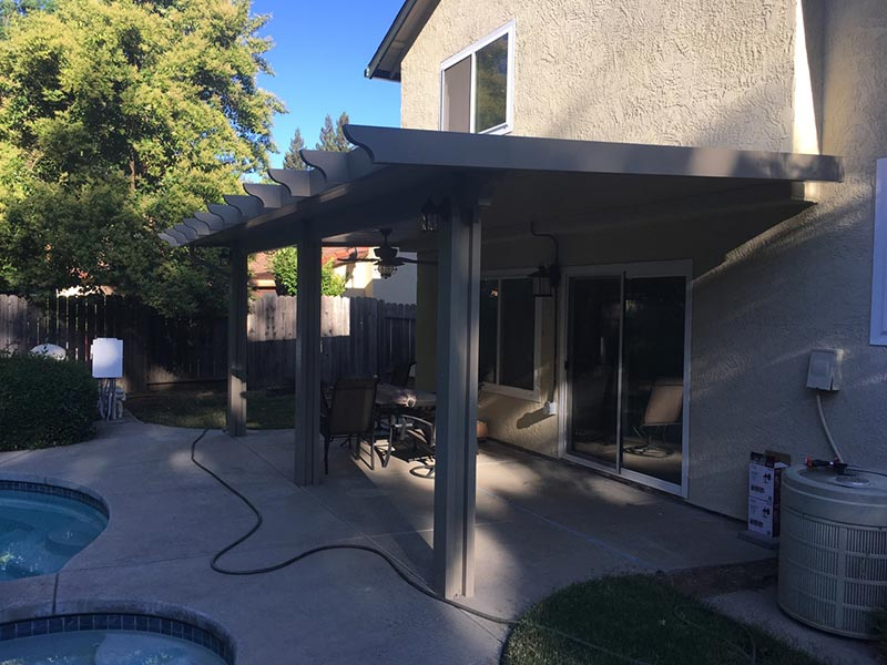 Durawood Attached Wall Patio Cover Sacramento Ca