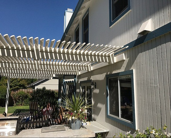 Double Support Beam Wall Attached Patio Cover Elk Grove Ca
